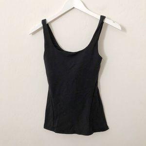 Lululemon Black adjustable bra Tank top